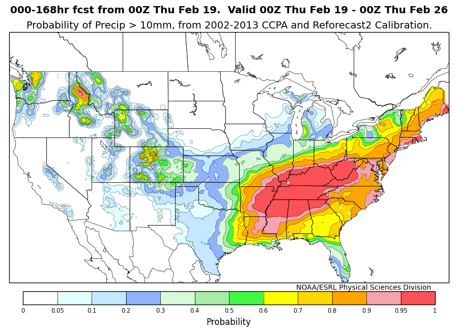 NCEP GEFS Reforecasts and CCPA