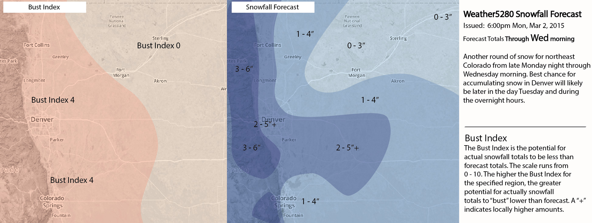 Weather5280 Snowf Forecast