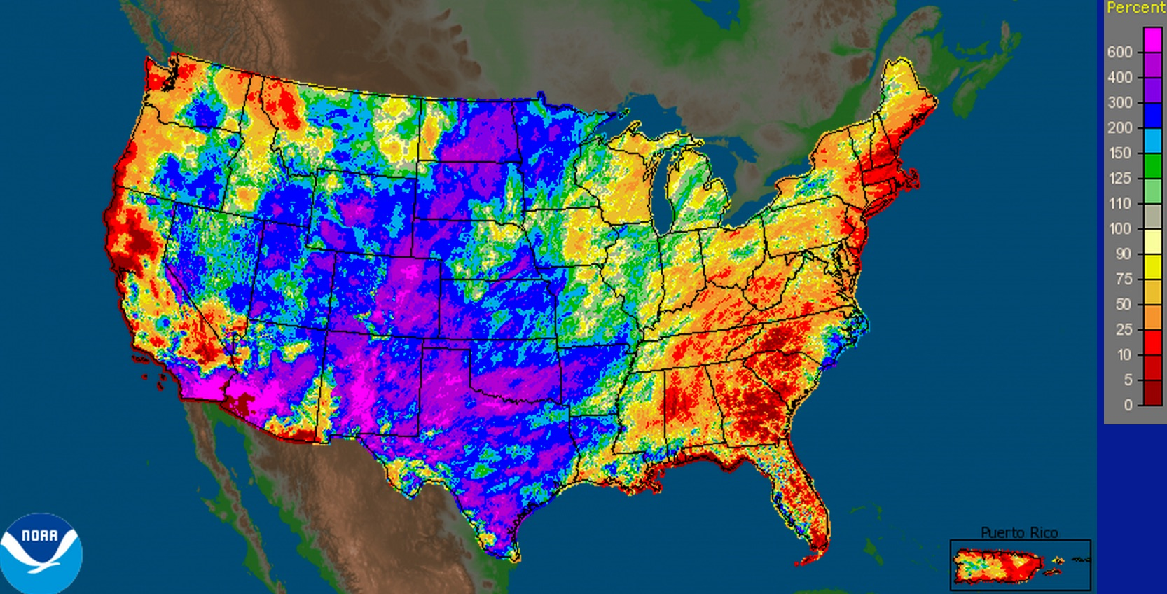 National Weather Service precipitation analysis