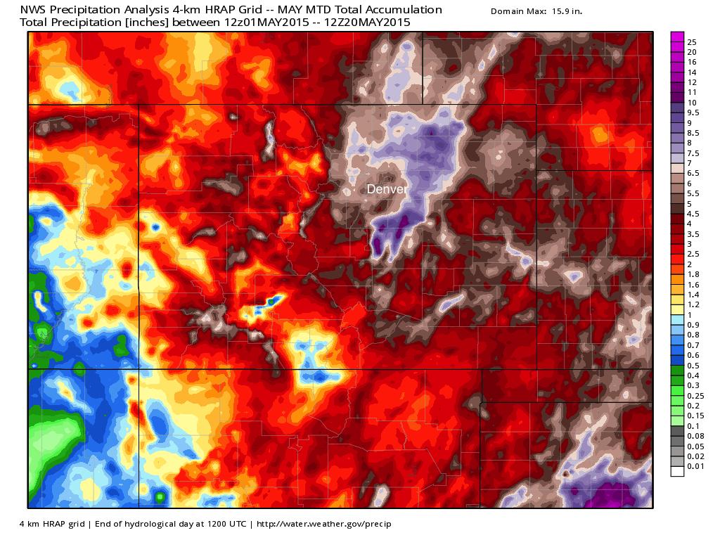 NWS precipitation analysis | WeatherBell Analytics