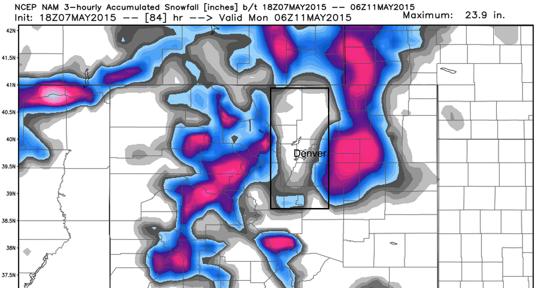 NAM model   WeatherBell Analytics