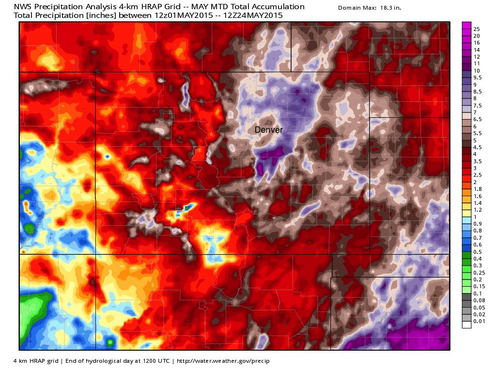 NWS precipitation analysis   WeatherBell Analytics