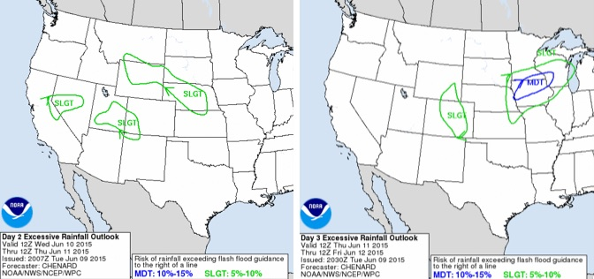 WPC excessive rainfall outlook