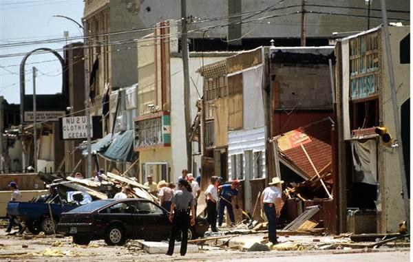 Limon tornado damage, 1990 | Denver Post/Limon Museum