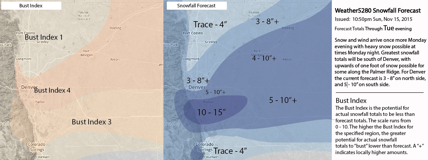 Weather5280 snowfall forecast