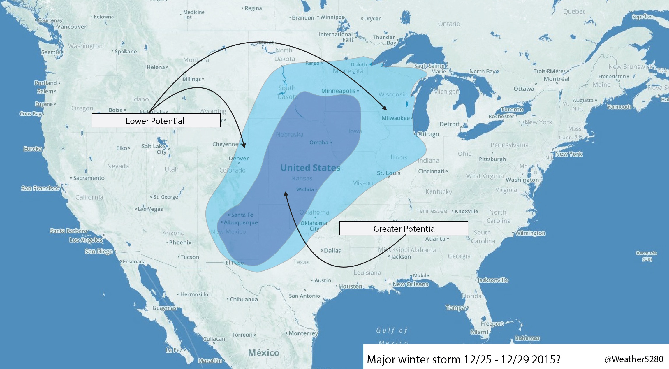 Winter winter storm potential?