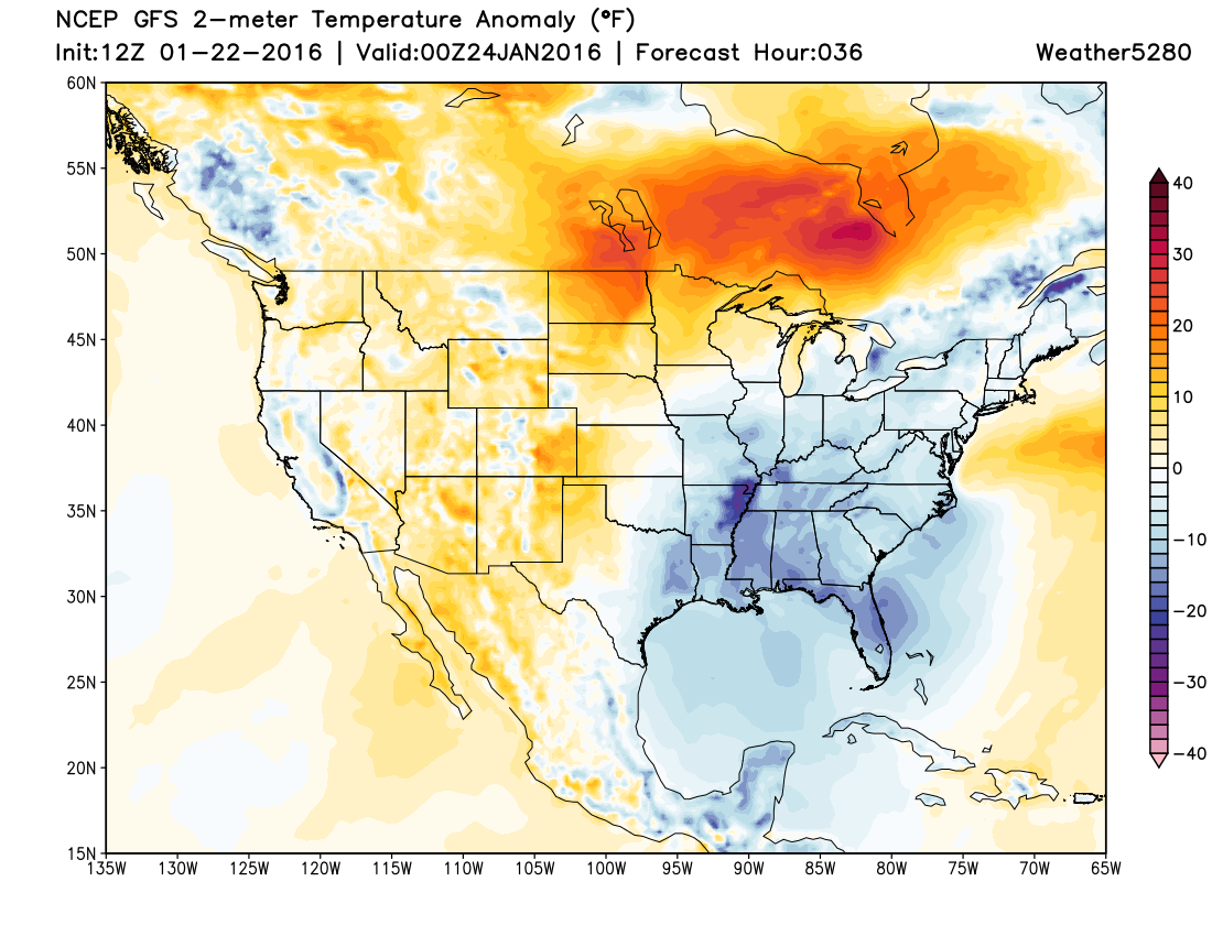 Warmer than average temperatures across Colorado on Saturday | Weather5280 Models