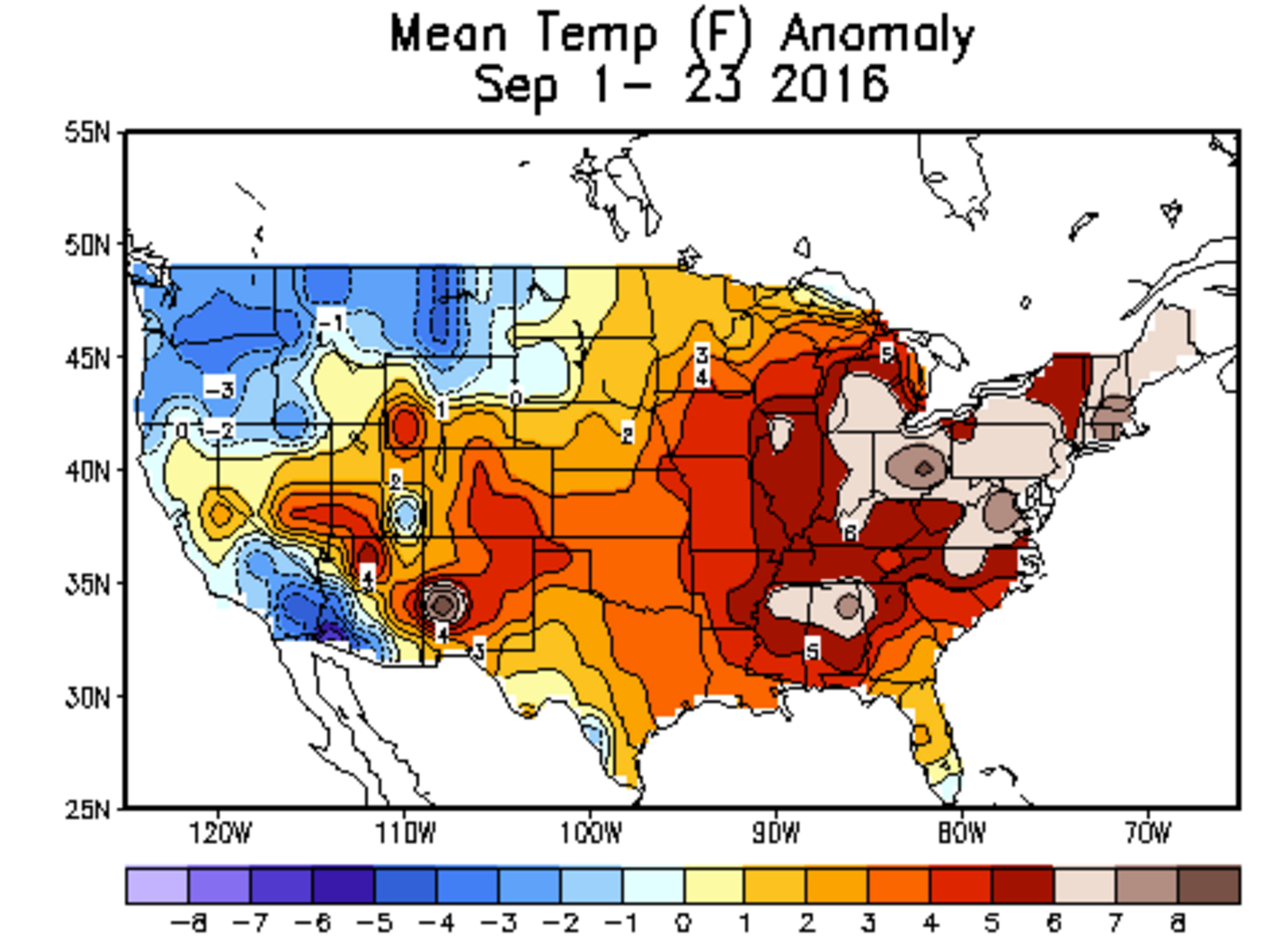 It has been a warm September across Colorado