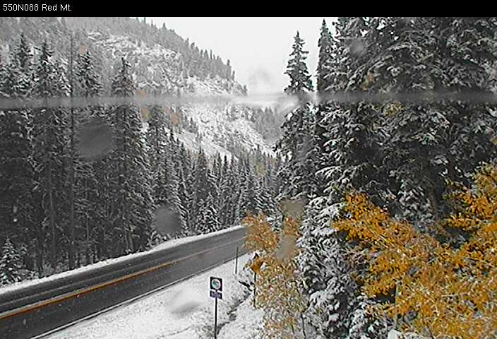 Stunning colors in the high country this weekend, with even some fresh snow as a back drop