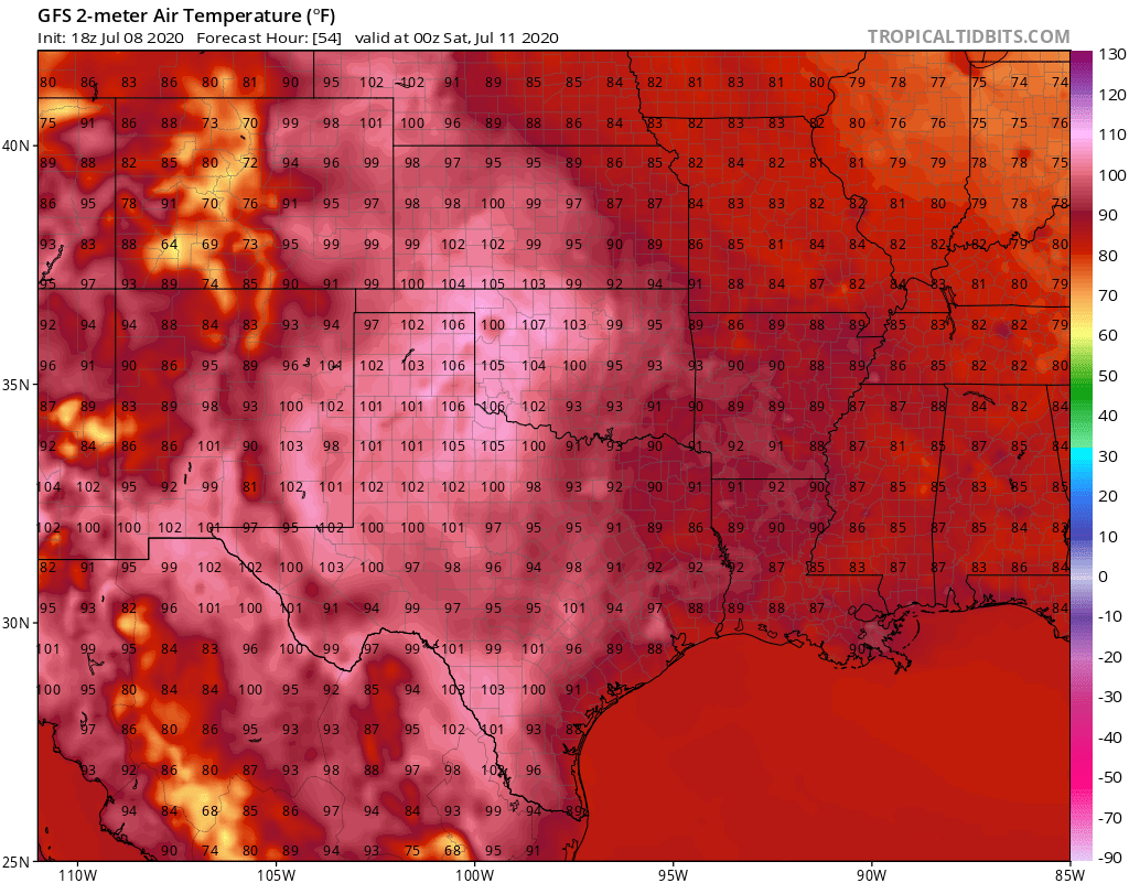 image: Days with temperatures in the 100s, a perspective for Colorado and Denver