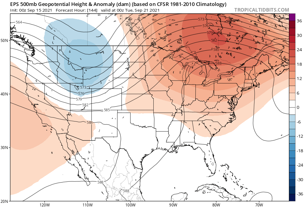 image: Warm and mostly dry through the weekend, turning cooler with a chance of mountain snow by next week